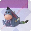 1999 Eeyore - Merry MiniatureHallmark Christmas Ornament