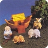 1996 Noah and Friends - Merry Miniature set of 5
