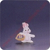 1993 Bunny - Merry MiniatureHallmark Christmas Ornament