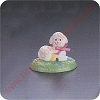 1992 Lamb - Merry MiniatureHallmark Christmas Ornament