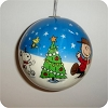 2005 Charlie Brown Christmas BallHallmark Christmas Ornament