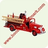2005 Fire Brigade #3 - 1938 Chevrolet Fire EngineHallmark Christmas Ornament