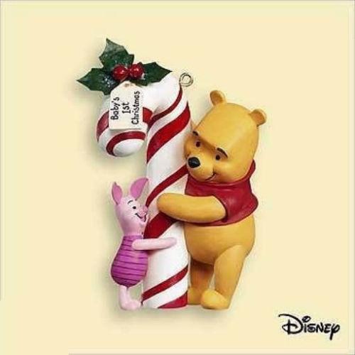 2006 Winnie The Pooh Baby S First Christmas Hallmark