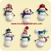 2006 Jolly Snowmen - Miniature