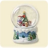 2007 Snow Buddies Snow GlobeHallmark Christmas Ornament