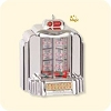 2007 Santas Jukebox -  Plays 12 songs!Hallmark Christmas Ornament