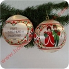 1981 Ambassador, First Christmas Together - NBHallmark Christmas Ornament