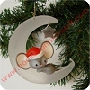 1981 Ambassador, Mouse On Moon - NBHallmark Christmas Ornament