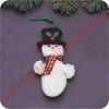 1980 SnowmanHallmark Christmas Ornament