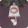 1981 Bellringer #3 - Mouse in Candy CaneHallmark Christmas Ornament