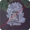 1981 25th Christmas Together, AcrylicHallmark Christmas Ornament