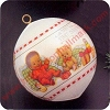 1981 Babys First Christmas AfAm - MIBHallmark Christmas Ornament