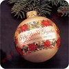 1981 50th Christmas TogetherHallmark Christmas Ornament