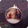 1983 Annunciation - Rare Hallmark Christmas Ornament
