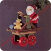 1983 Here Comes Santa #5 - Santa Express - no tagHallmark Christmas Ornament