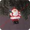 1983 Jolly Santa Hallmark Christmas Ornament