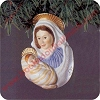1983 Madonna And Child Hallmark Christmas Ornament