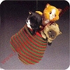 1984 Three Kittens in a Mitten Hallmark Christmas Ornament
