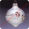 1985 Good Friends - Frosty Friends Complement Hallmark Christmas Ornament