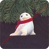 1984 Snowy Seal Hallmark Christmas Ornament