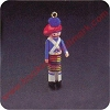 1985 Clothespin Soldier #4 - Scotish HighlanderHallmark Christmas Ornament