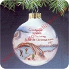 1987 GrandparentsHallmark Christmas Ornament