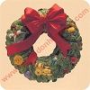 1987 Wreath of Memories, Charter Club MemberHallmark Christmas Ornament