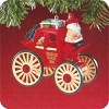 1988 Here Comes Santa #10 - Kringle CoachHallmark Christmas Ornament