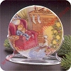 1988 Collectors Plate #2 - Waiting for SantaHallmark Christmas Ornament