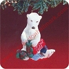 1988 Dad Polar BearHallmark Christmas Ornament
