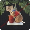 1989 Busy Beaver - DBHallmark Christmas Ornament