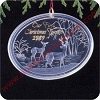 1989 First Christmas Together - Acrylic - MIBHallmark Christmas Ornament