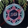 1989 Festive Year Hallmark Christmas Ornament