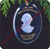 1989 George Washington Bicentennial Hallmark Christmas Ornament
