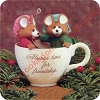 1989 Friendship TimeHallmark Christmas Ornament