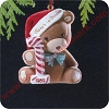 1989 Babys First Christmas - Bear - DBHallmark Christmas Ornament