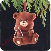 1989 Bear i Tone Hallmark Christmas Ornament