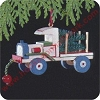 1989 Wood Childhood #6 - TruckHallmark Christmas Ornament