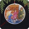 1989 Collectors Plate #3 - Morning of WonderHallmark Christmas Ornament