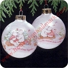 1989 First Christmas TogetherHallmark Christmas Ornament