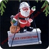 1989 Claus ConstructionHallmark Christmas Ornament