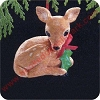 1989 Gentle Fawn Hallmark Christmas Ornament