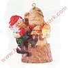 1990 Elfin Whittler Hallmark Christmas Ornament