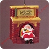 1990 Welcome Santa - w/Fun movement!Hallmark Christmas Ornament