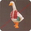 1990 Cozy GooseHallmark Christmas Ornament