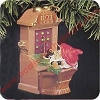 1991 Santas Hot LineHallmark Christmas Ornament