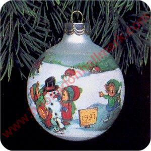 1991 betsey clark 6 hallmark ornament