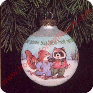 1991 special friends hallmark ornament