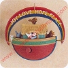 1991 Noah's Ark - Wind Up - SDBHallmark Christmas Ornament