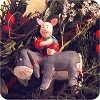 1991 Piglet and EeyoreHallmark Christmas Ornament